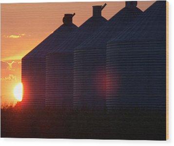 Sunset I Wood Print