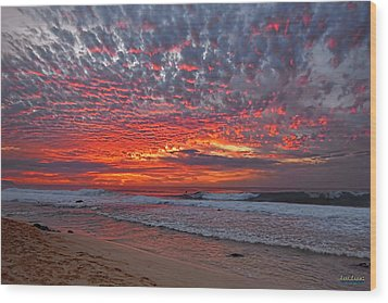 Wood Print featuring the photograph Sunset On The North Shore by Aloha Art