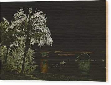 Wood Print featuring the photograph Sunset On Tioman Island by Sergey Lukashin