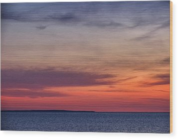 Sunset Over Herring Cove 002 Wood Print