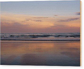Sunset Over Long Sands Beach II Wood Print