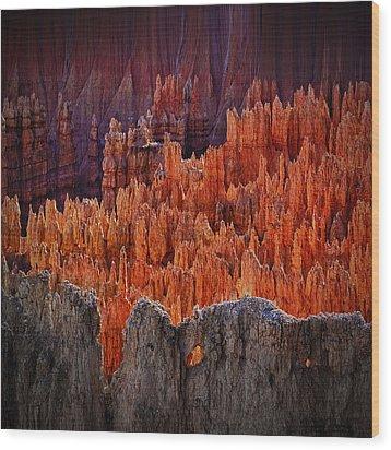 Sunset Point Bryce Canyon Utah Wood Print