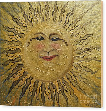 Sunshine 2012 Wood Print