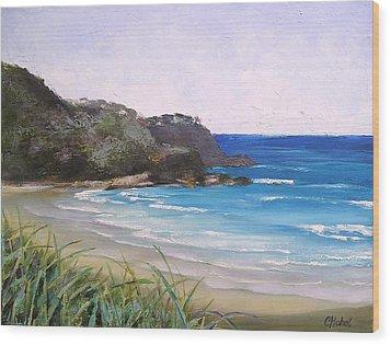 Sunshine Beach Qld Australia Wood Print