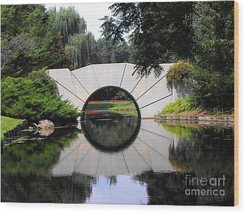 Sunshine Bridge Wood Print