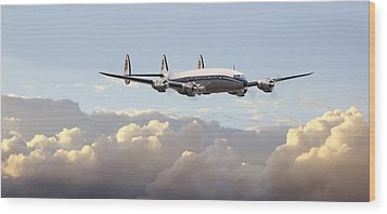 Super Constellation - End Of An Era Wood Print