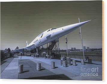 Supersonic  Wood Print by Rob Hawkins