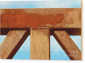 Wood Print featuring the photograph Support by Cristophers Dream Artistry