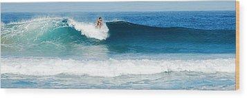 Surfer Dsc_1330 Wood Print by Michael Peychich