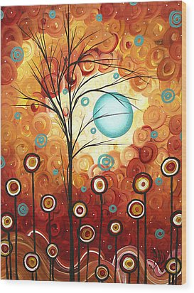 Surrounded By Love By Madart Wood Print by Megan Duncanson