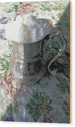 Susurluk Ayrani Wood Print by Tracey Harrington-Simpson