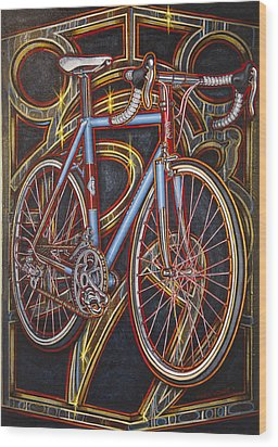 Swallow Bespoke Bicycle Wood Print