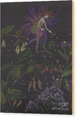 Swamp Walk Wood Print by Dawn Fairies