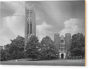 Swarthmore College Clothier Hall Wood Print by University Icons