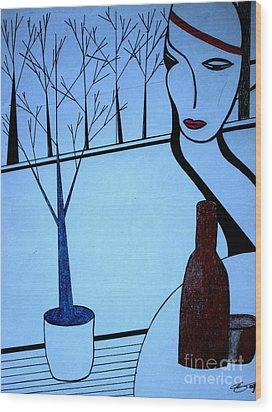 Swedish Winter Wood Print by Bill OConnor