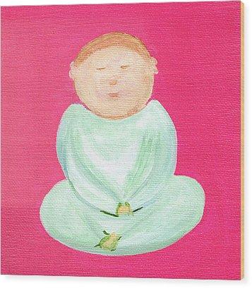 Sweet Buddha Wood Print