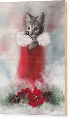 Sweet Christmas Wood Print