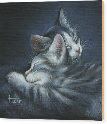Sweet Dreams Wood Print by Cynthia House