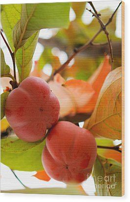 Wood Print featuring the photograph Sweet Fruit by Erika Weber