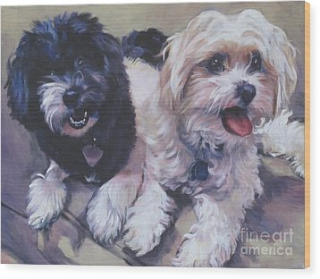 Sweet Havanese Wood Print