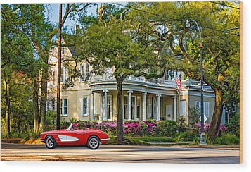 Sweet Home New Orleans 3 Wood Print by Steve Harrington