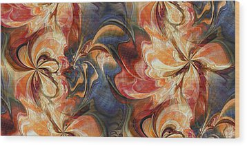 Sweet Nectar Wood Print by Kim Redd
