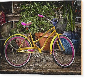 Sweet Ride Wood Print