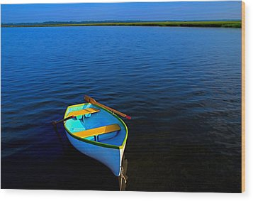 My Sweet Row Boat Wood Print