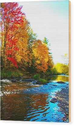 Sweet Serenity Wood Print by Tiffany Erdman