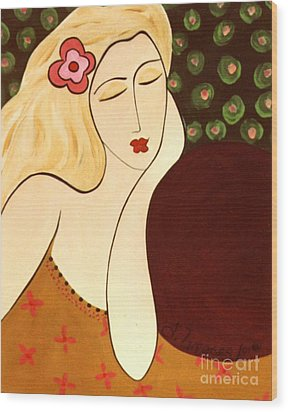 Sweet Sixteen Wood Print