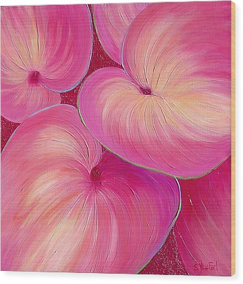 Sweet Tarts II Wood Print by Sandi Whetzel