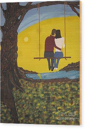 Sweet Whispers Wood Print by Jeffrey Koss