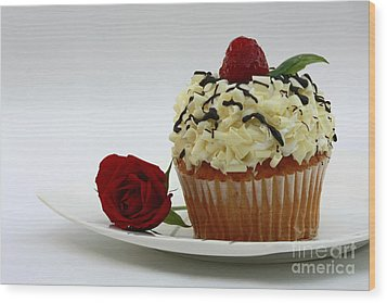 Sweets For My Sweetheart  Wood Print by Inspired Nature Photography Fine Art Photography