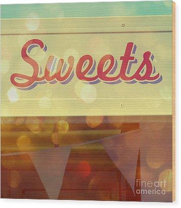 Sweets Wood Print