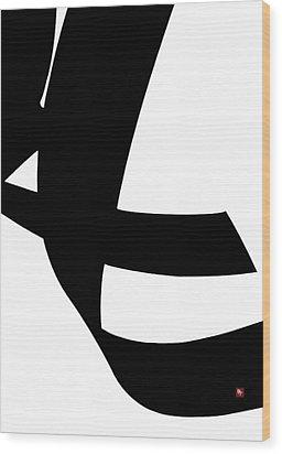 Swift Wood Print by Edward Jensen