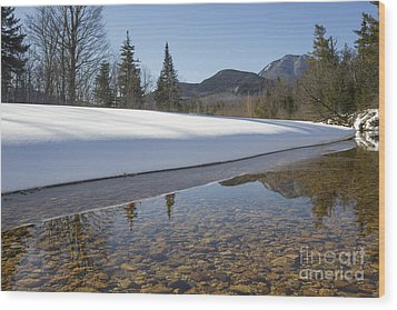 Swift River - Albany New Hampshire Usa Wood Print by Erin Paul Donovan