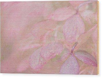 Swimming In Petals Wood Print