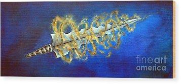 Sword Of The Word Wood Print
