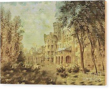 Sybillas Palace Wood Print
