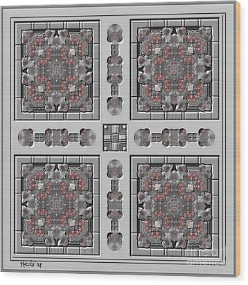 Symmetrica 313 Wood Print by Nedunseralathan R