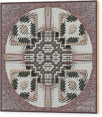 Symmetrica 314 Wood Print by Nedunseralathan R