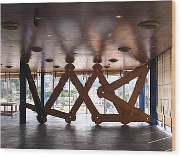Symmetries Wood Print by Jose luis Mendes