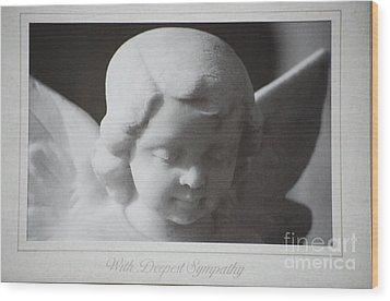 Sympathy      Angel Wood Print