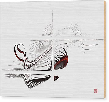 Synergy Wood Print by David Jenkins