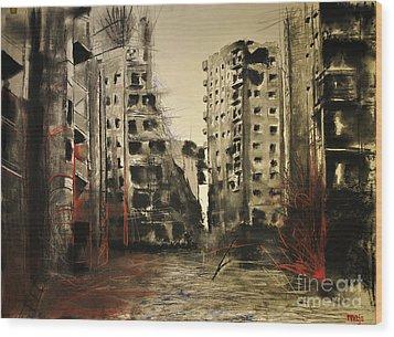 Syria Wood Print