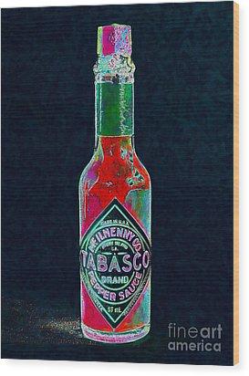Tabasco Sauce 20130402 Wood Print