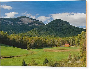 Table Rock Scenic Wood Print