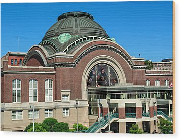 Tacoma Court House At Union Station Wood Print