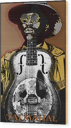 Taj Mahal Wood Print by Larry Butterworth