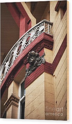 Taksim Architecture Wood Print by John Rizzuto